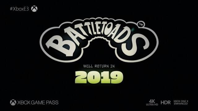 E3 2018: Anunciado nuevo Battletoads para 2019