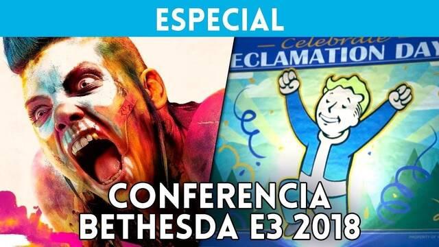 E3 2018: Resumen en vídeo de la conferencia de Bethesda