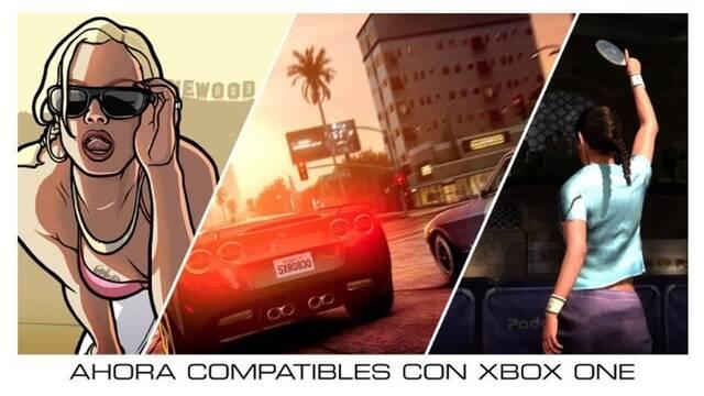 GTA San Andreas, Midnight Club LA y Table Tennis disponibles en Xbox One