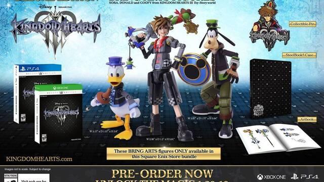E3 2018: Así son las ediciones deluxe de Kingdom Hearts III