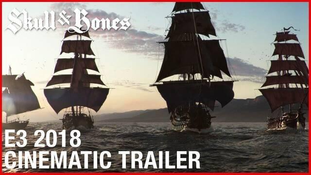 E3 2018: Nuevo tráiler y gameplay de Skull & Bones