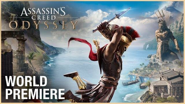 E3 2018: Tráiler y gameplay de Assassin's Creed Odyssey: 5 de octubre