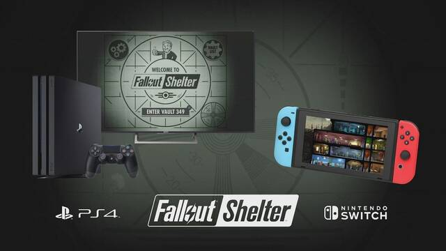 E3 2018: Fallout Shelter llega hoy a Nintendo Switch y PS4