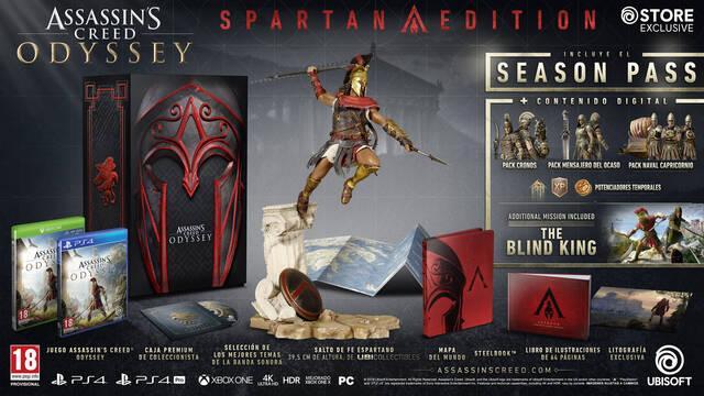 E3 2018: Así son las ediciones coleccionista de Assassin's Creed Odyssey