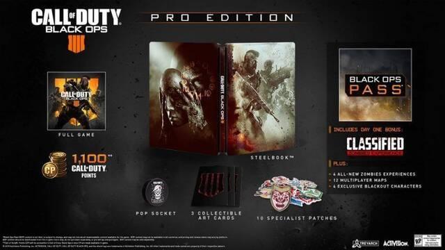 E3 2018: Así son las ediciones especiales de Call of Duty: Black Ops 4