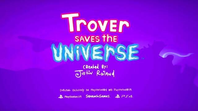 E3 2018: El creador de Rick & Morty anuncia Trover Saves the Universe para PS VR