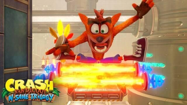 E3 2018: Así es 'Future Tense', el nuevo nivel de Crash Bandicoot N. Sane Trilogy