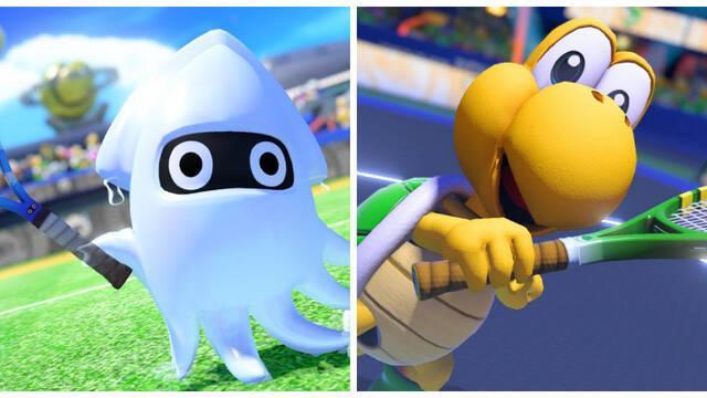 E3 2018: Koopa y Blooper se sumarán a Mario Tennis Aces este verano