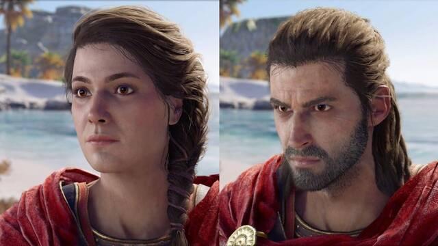 E3 2018: Comparan los diálogos de los dos protagonistas de Assassin's Creed Odyssey