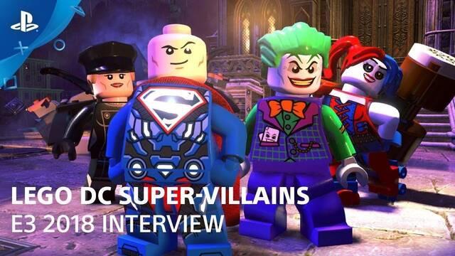 E3 2018: Los malvados de LEGO DC Súper-Villanos muestran su jugabilidad