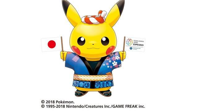 Pikachu se encargará de ayudar a la candidatura de Japón para la Expo 2025