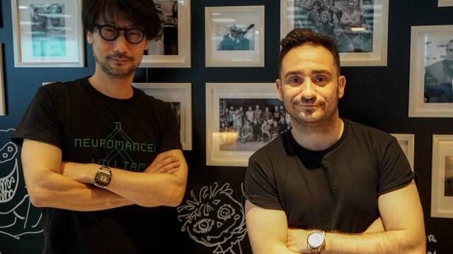 El director español J.A. Bayona visita a Hideo Kojima