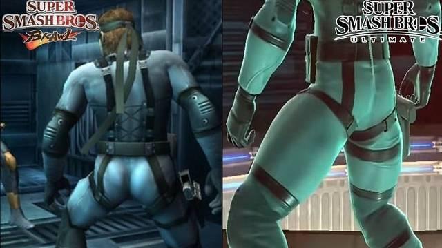 David Hayter está enfadado con el trasero de Snake en Smash Bros. Ultimate
