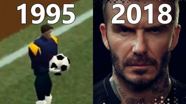 Así ha sido la evolución gráfica de Pro Evolution Soccer desde 1995