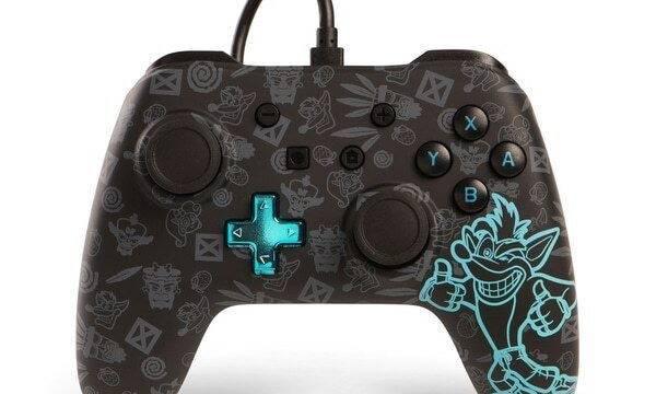 Crash Bandicoot tendrá su mando oficial en Nintendo Switch