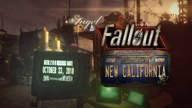 El mod Fallout: New California estará disponible el 23 de octubre