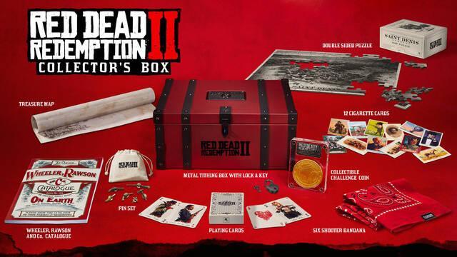 La edición coleccionista de Red Dead Redemption 2 no incluye el juego