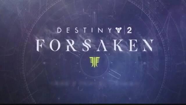 La próxima expansión de Destiny 2 se titulará 'Forsaken'