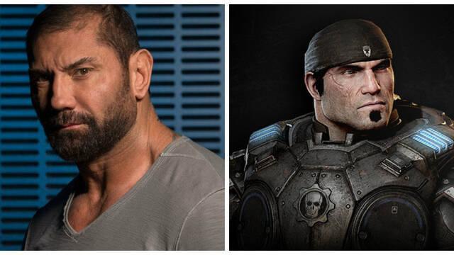 Dave Bautista quiere ser Marcus Fenix de Gears of War