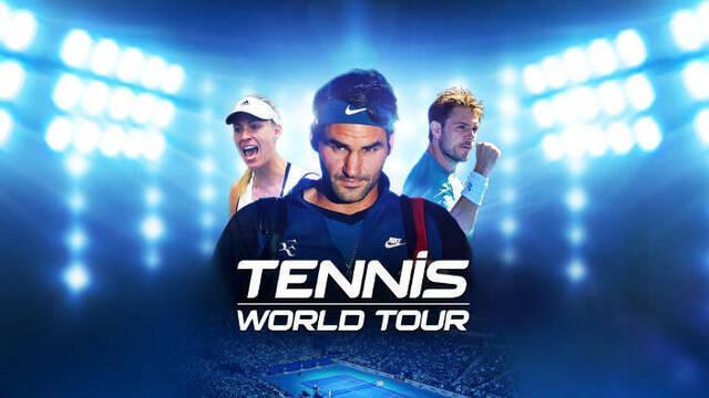 Admiten que Tennis World Tour se puso a la venta sin terminar