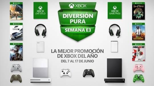 Ya disponibles las ofertas del E3 2018 para Xbox