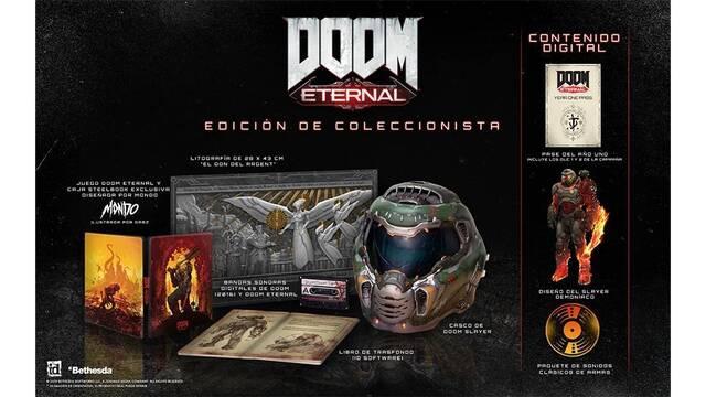 E3 2019: Así es la edición para coleccionistas con casco de Doom Eternal