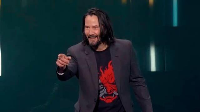 E3 2019: CD Projekt RED premia al espectador que elogió a Keanu Reeves