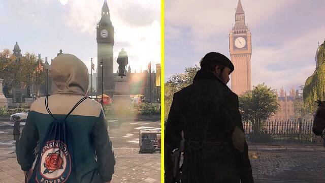 E3 2019: Comparan la Londres de Watch Dogs Legion y Assassin's Creed Syndicate