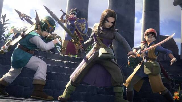 E3 2019: Super Smash Bros. Ultimate recibe a los héroes de Dragon Quest
