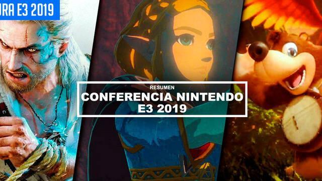 E3 2019: Resumen de la conferencia de Nintendo: TODOS los juegos y novedades