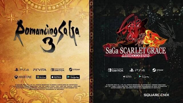 E3 2019: Romancing Saga 3 y SaGa Scarlet Grace: Ambitions llegarán a Occidente