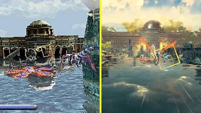 E3 2019: Comparan los gráficos del Panzer Dragoon original con su remake en Switch