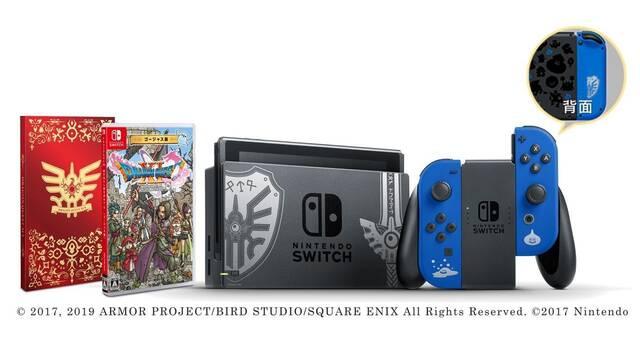 E3 2019: Presentado un pack de Dragon Quest XI S para Japón