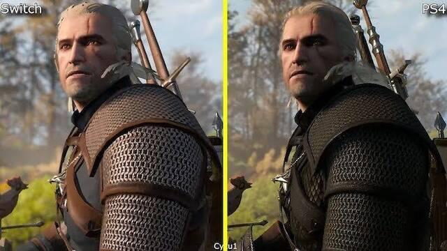 E3 2019: Comparan los gráficos de The Witcher 3 en Switch y PS4