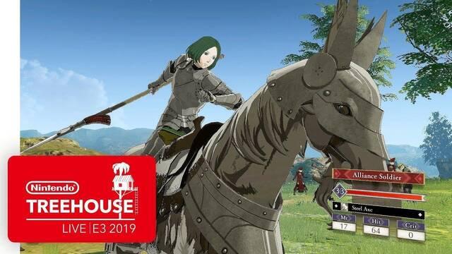 E3 2019: Fire Emblem: Three Houses muestra su jugabilidad en el Treehouse