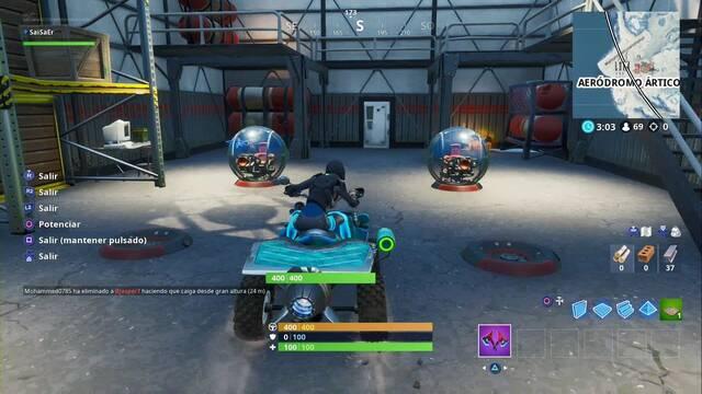 Desafío Fortnite: Usa diferentes vehículos en una misma partida - SOLUCIÓN