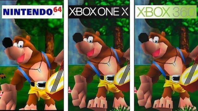 Así lucen los clásicos Perfect Dark y Banjo-Kazooie a 4K en Xbox One X