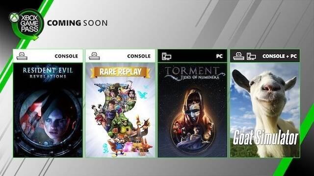 Xbox Game Pass: Llegan Resident Evil Revelations, Goat Simulator y Rare Replay