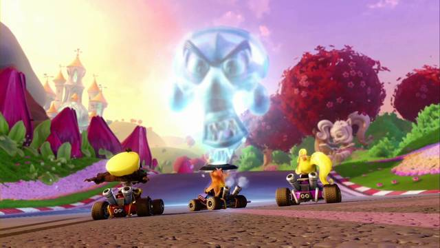 Boxes en Crash Team Racing: qué es y cómo funciona