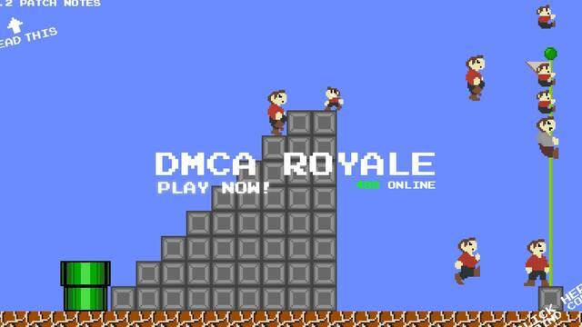 Mario Royale recibe una orden de cese de Nintendo y se reinventa