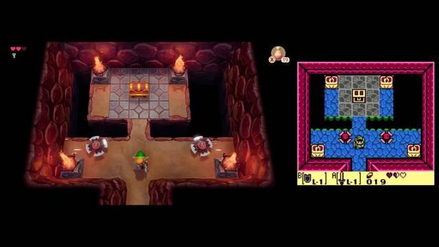 Así luce el remake de Zelda: Link's Awakening comparado con el original