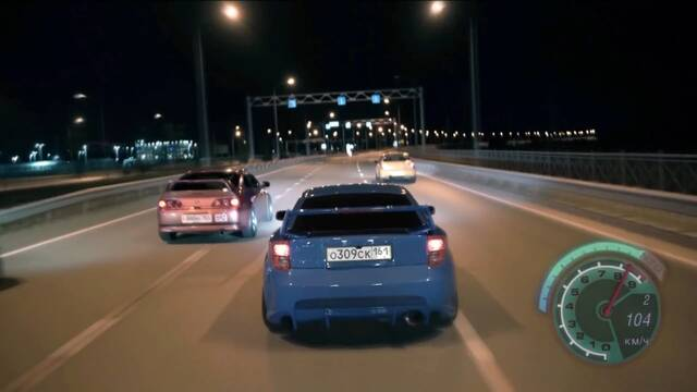 Así sería Need for Speed en la vida real