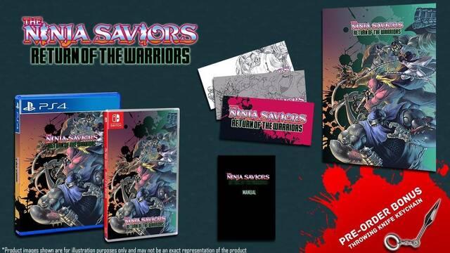 El remake de The Ninja Warriors llega a España el 30 de agosto en físico