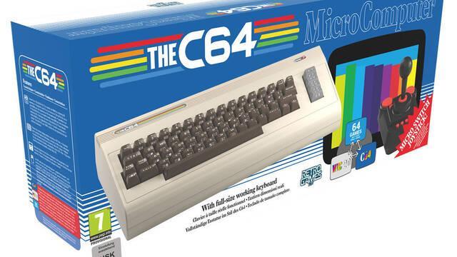 El Commodore 64 se relanzará el 5 de diciembre con 64 juegos incluidos