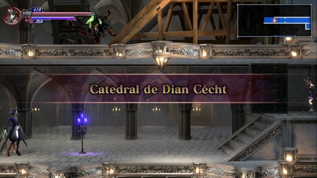 Catedral de Dian Cécht al 100% en Bloodstained: Ritual of the night