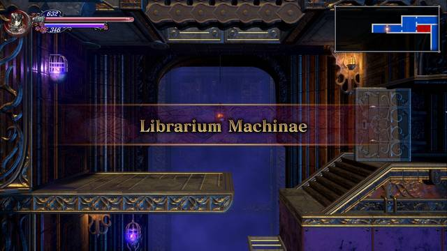 Librarium Machinae al 100% en Bloodstained: Ritual of the night