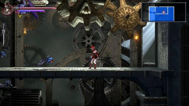 Torre de los Dragones Gemelos, segunda parte al 100% en Bloodstained: Ritual of the night