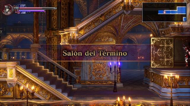 Salón del Término al 100% en Bloodstained: Ritual of the night