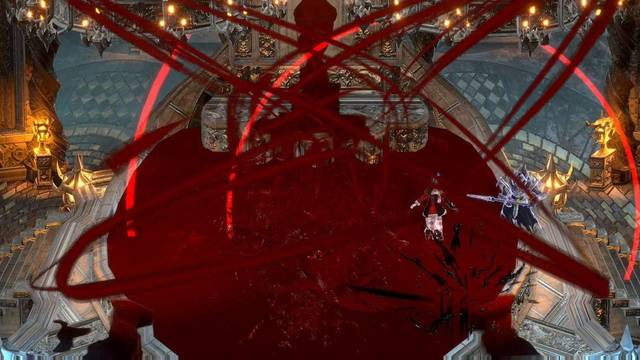 Canal subterráneo prohibido al 100% en Bloodstained: Ritual of the night