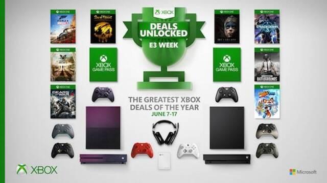 Xbox anuncia grandes ofertas para el E3 2019